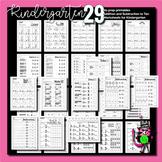 Kindergarten Starters | Add, subtract to ten, Word Familie