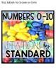 Kindergarten Stations by Standards Labels Free