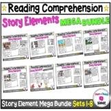 Kindergarten Story Element Worksheets Mega Bundle- Sets 1-8