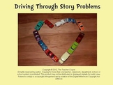 Kindergarten Story Problems using Car Manipulatives