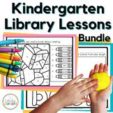 Kindergarten Library Lessons Bundle