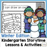 Kindergarten Library Lessons and Activities Winter