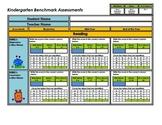 Kindergarten Student Benchmark Assessment Packet