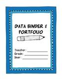 Kindergarten Student Data Binder and Portfolio