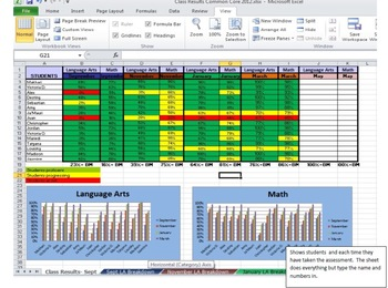 Kindergarten Student Data Tracking for up to 10 users.
