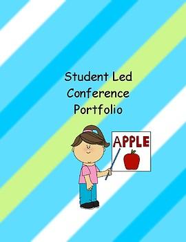 Kindergarten Student Led Conference Portfolio