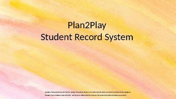 Kindergarten Student Record System