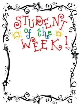 Kindergarten Student of the Week Book