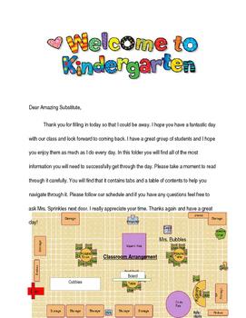 Kindergarten Sub File