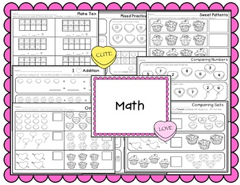 Kindergarten Sub Plans {February-Valentine's Day}