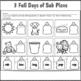 Kindergarten Sub Plans June 3 Full Days