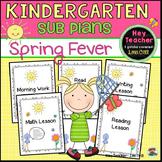 Kindergarten Sub Plans: Spring Fever!
