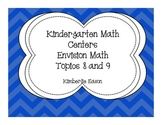 Kindergarten Subtraction Centers (Envision Math Topics 8 and 9)