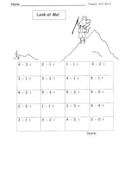 Kindergarten Subtraction MEGA PACK All Standards!   22 pages