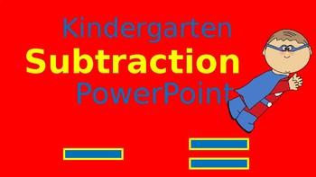 Kindergarten Subtraction PowerPoint