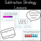Kindergarten Subtraction Strategy Interactive PowerPoint Lessons