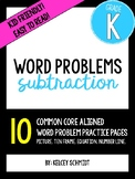 Kindergarten Subtraction Word Problems