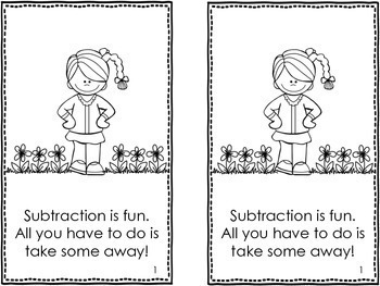 Kindergarten Subtraction Worksheets