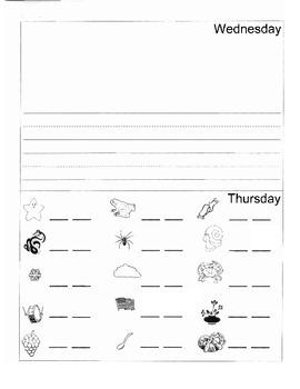 Kindergarten Summer Homework