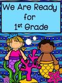Kindergarten Summer Homework: I'm Ready for First Grade