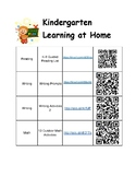 Kindergarten Summer Learning Activities