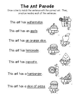 Kindergarten Summer Packet (A)