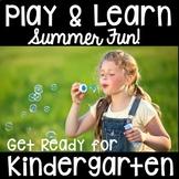 Pre-K & Kindergarten Summer Packet- Play Based Distance Learning