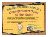 Kindergarten Summer Packet (Common Core Aligned)