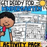 Kindergarten Summer Packet (Get Ready for Kindergarten) Pr