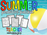 Kindergarten Summer Practice Packet