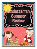 Kindergarten Summer Review