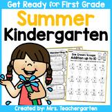 Kindergarten Summer Review - Distance Learning