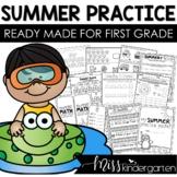 Kindergarten Summer Review Packet | Summer Practice of Kin