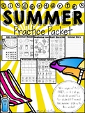 Kindergarten Summer Review Packet (for Kindergarten Graduates)