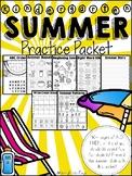 Kindergarten Summer Review Packet (for Kindergarten Graduates)
