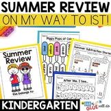 Kindergarten Summer Review (Kindergarten Distance Learning)
