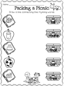 Kindergarten Summer Skills Workbook {Common Core Review}