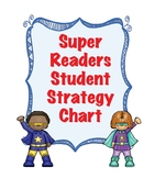 Kindergarten Super Readers Student Decoding Strategy Chart