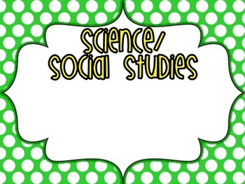 Kindergarten Super Standards- GEORGIA Science/Social Studies