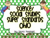 Kindergarten Super Standards- OHIO Science/Social Studies