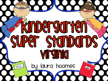 Kindergarten Super Standards VIRGINIA