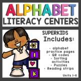 Meet the Superkids Kindergarten Literacy Centers Units 1-6
