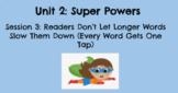 Kindergarten TC Reading Unit 2 - Super Powers Lesson Plans