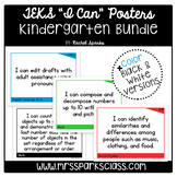 "Kindergarten TEKS ""I Can"" Statement Posters Bundle"