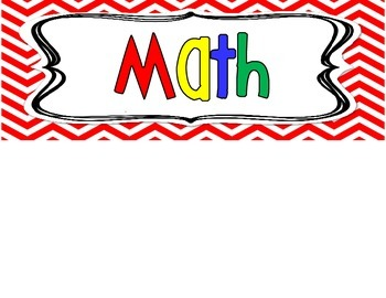 Kindergarten TEKS - Math