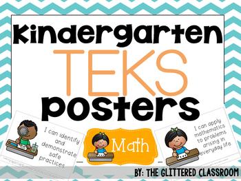 Kindergarten TEKS Posters