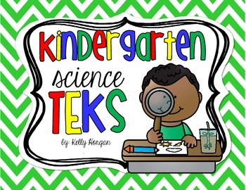 Kindergarten TEKS - Science
