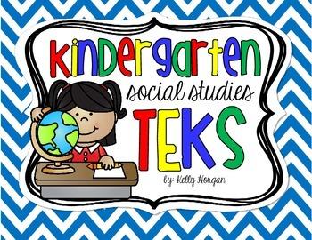 Kindergarten TEKS - Social Studies