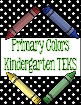 """Kindergarten TEKS """"I am learning"""" Statement Poster Bundle:"""