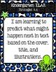 "Kindergarten TEKS ""I am learning"" Statement Poster Bundle: Under The Sea Theme"